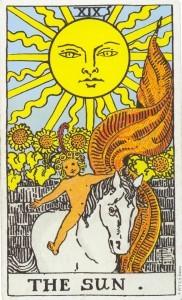 Tarot kortet Solen